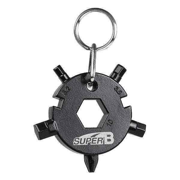 SUPER B TB-FD 08-BK mini herramienta multifunción