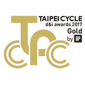 Taipei Cycle d&i awards 2017 gold