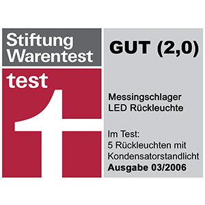 Stiftung Warentest Note GUT