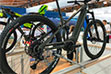 Full suspension e-bike frame equipped with Brose ›S Mag‹ drive