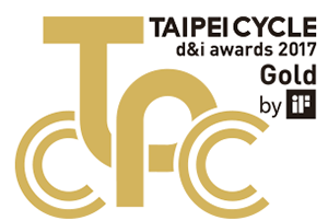 Taipei Cycle awards 2017 gold